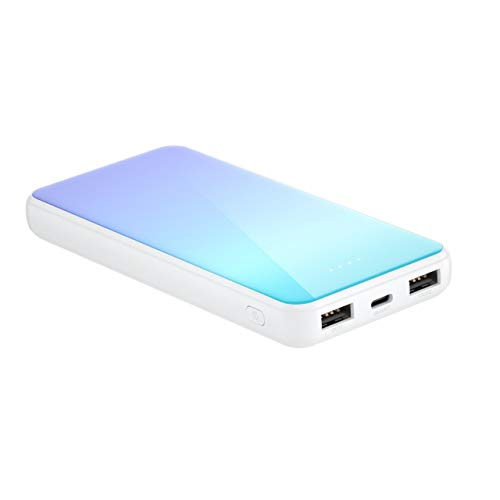 Candytech 12000 mAh Back Glass Fast Charging Powerbank for All Smartphones (Multicolour)
